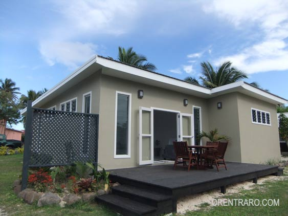Muri Palm is a brand new two bedroom home