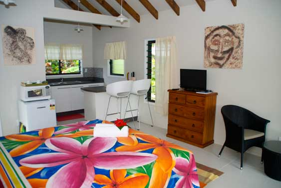 Lyas Bungalows are well appointed and ideal for a vacation