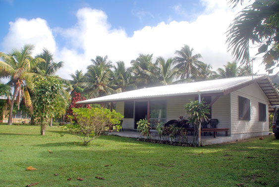 exterior of Macs Shack, Titikaveka, Rarotonga, Cook Islands