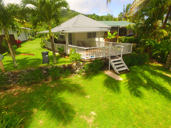 Situated in the village of Arorangi on Rarotonga's western coastline
